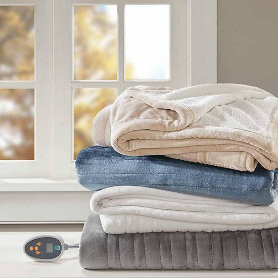 True North Reversible Ultra Soft Plush Electric Blanket