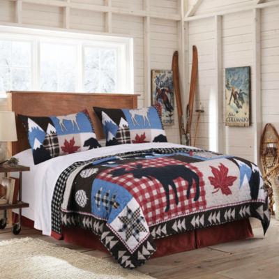 Greenland Home Fashions Mountain Trail 3-pc. Quilt Set