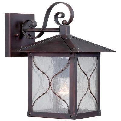 Filament Design 1-Light Classic Bronze Outdoor Wall Sconce