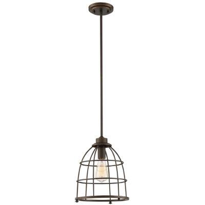 Filament Design 1-Light Mahogany Bronze Pendant