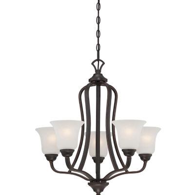 Filament Design 5-Light Sudbury Bronze Chandelier