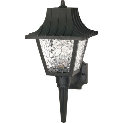 Filament Design 1-Light Black Outdoor Wall Sconce - JCPenney