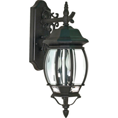 Filament Design 3-Light White Outdoor Wall Sconce
