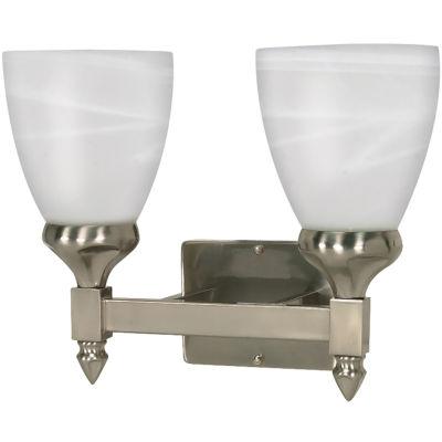 Filament Design 2-Light Brushed Nickel Bath Vanity