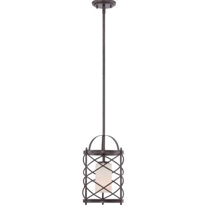 Filament Design 1-Light Old Bronze Pendant Mini-Pendant