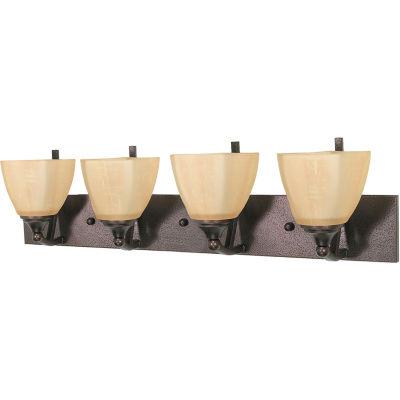 Filament Design 4-Light Copper Bronze Bath Vanity
