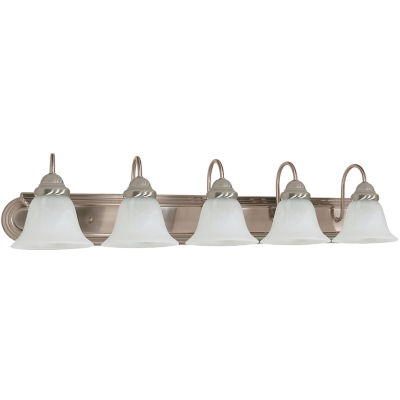 Filament Design 5-Light Brushed Nickel Bath Vanity
