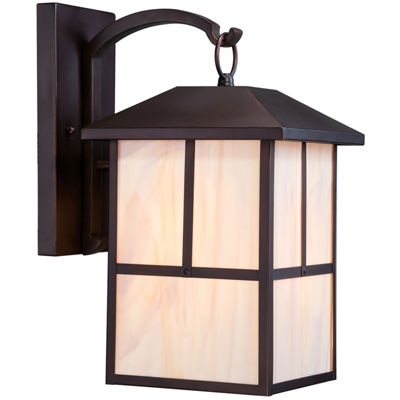 Filament Design 1-Light Claret Bronze Outdoor WallSconce