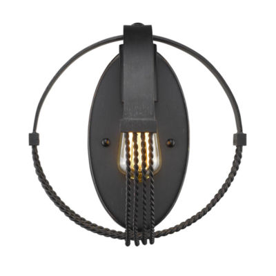 Carter 1-Light Wall Sconce in Aged Bronze