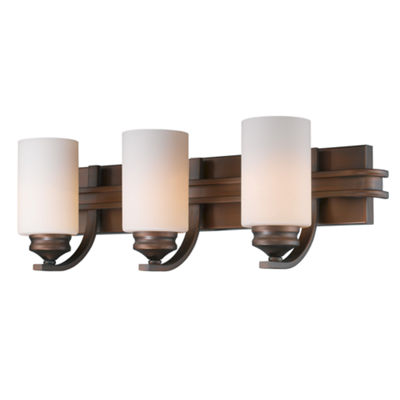 Hidalgo 3-Light Bath Vanity in Sovereign Bronze