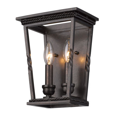 Davenport 2-Light Wall Sconce