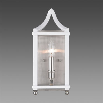 Leighton PW Wall Sconce in Pewter