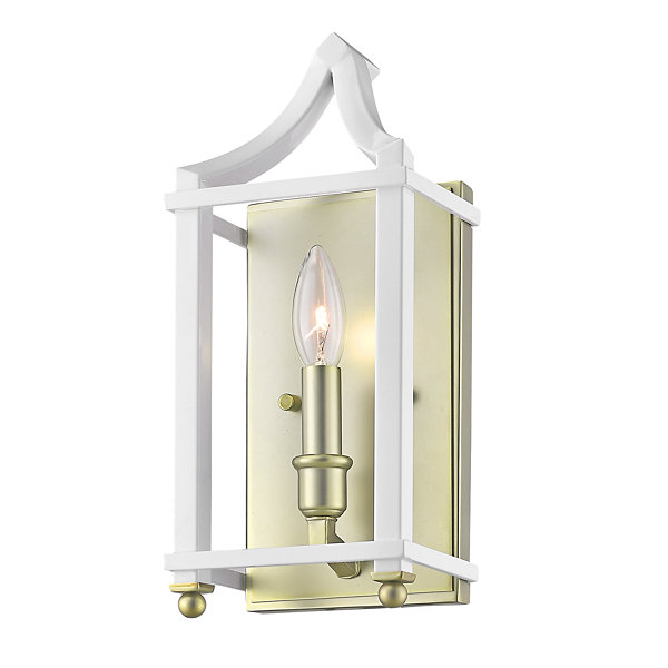 Leighton SB Wall Sconce in Satin Brass