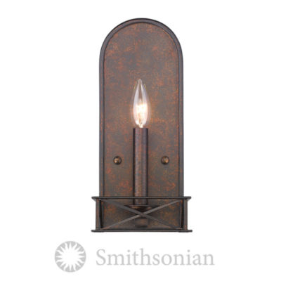 Gateway 2-Light Wall Sconce in Fired Bronze