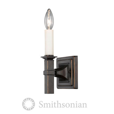 Bradley 1-Light Wall Sconce in Cordoban Bronze