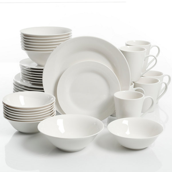 JCPenney Home Jcp Home Collection 40-pc. Dinnerware Set  sc 1 st  JCPenney : home dinnerware set - pezcame.com