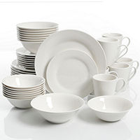 Deals on JCPenney Home Collection 40-pc. Dinnerware Set