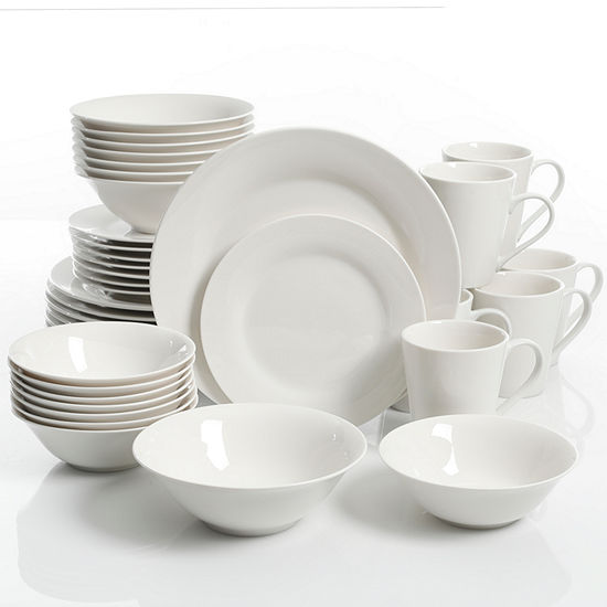 JCPenney Home Collection 40 Piece Dinnerware Set
