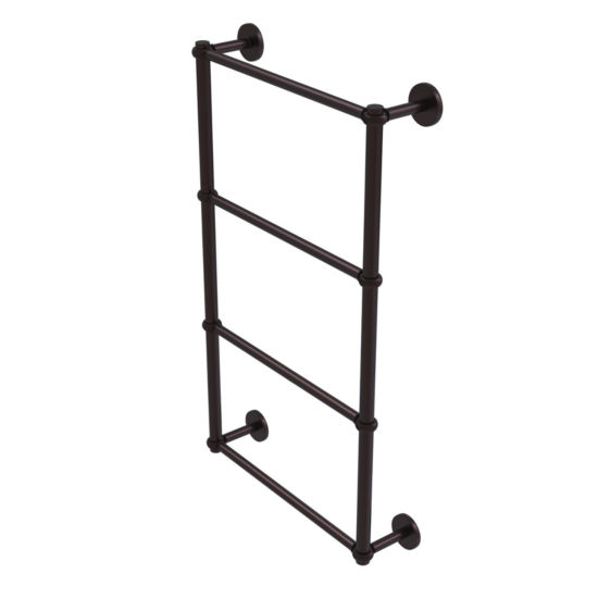 Allied Brass Prestige Skyline Collection 4 Tier 30Inch Ladder Towel Bar with Twisted Detail