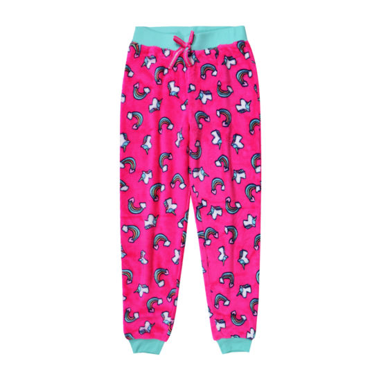 Arizona Jogger Fleece Unicorn Sleep Pant - Girls 4-16