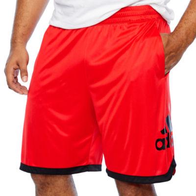 adidas Mens Basketball Short Big and Tall