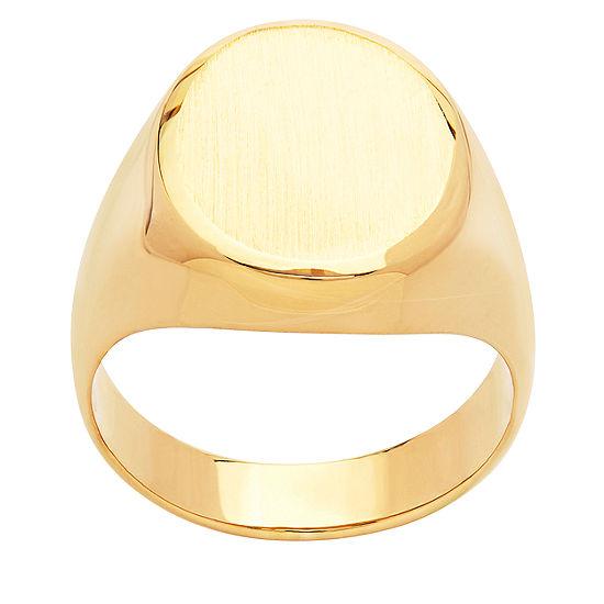 Womens 14K Gold Signet Ring