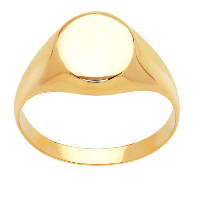 Womens 14K Gold Signet Ring