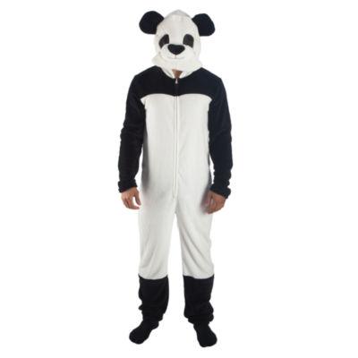 Panda Big Head Union Suit