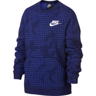 Nike Long Sleeve Sweatshirt - Big Kid Boys
