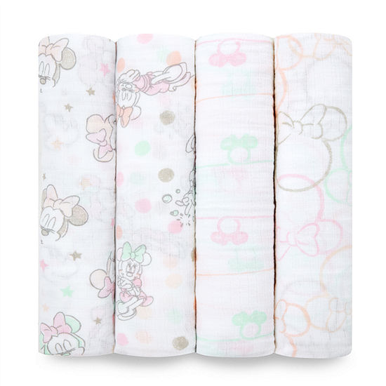 Aden By Aden + Anais Minnie 4-pc. Swaddle Blanket