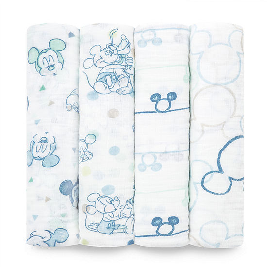 Aden By Aden + Anais Mickey 4-pc. Swaddle Blanket