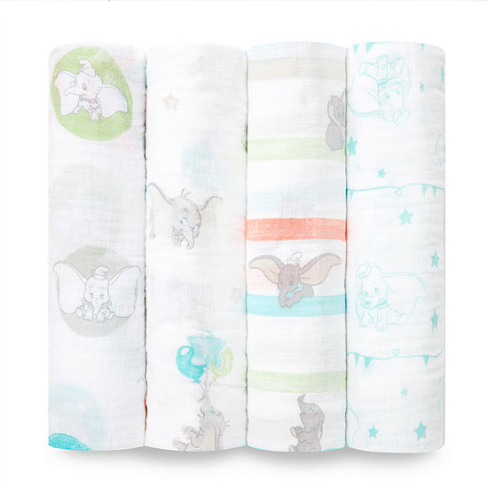 Aden By Aden + Anais Dumbo 4-pc. Swaddle Blanket