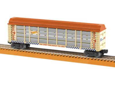 Lionel Trains Hot Wheels 50th Anniversary Auto Rack Car
