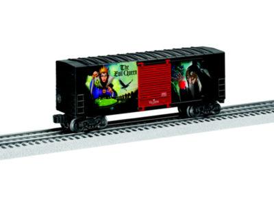 Lionel Trains Evil Queen Disney Villains Hi-Cube Boxcar