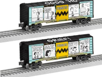 Lionel Trains Peanuts Comic Art Hilltop Boxcar