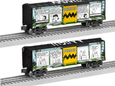 Lionel Trains Peanuts Comic Art Meadow Boxcar