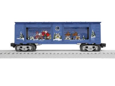 Lionel Trains Santa's Sleigh Aquarium Car