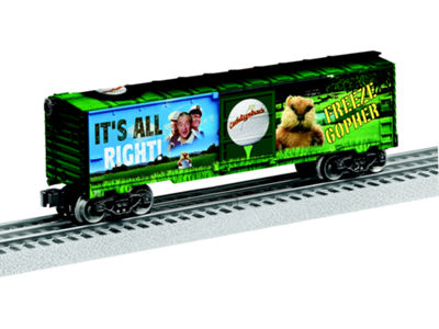 Lionel Trains Warner Bros Caddyshack Boxcar
