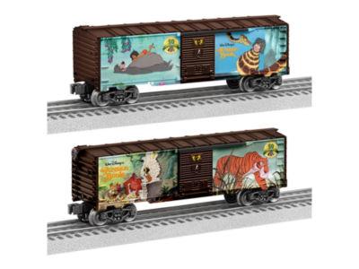 Lionel Trains Disney 50th Anniversary of The Jungle Book Boxcar