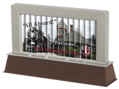 Lionel Trains Halloween Animated Plug-Expand-Play Billboard