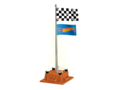 Lionel Trains Plug-Expand-Play Hot Wheels Checkered Flagpole
