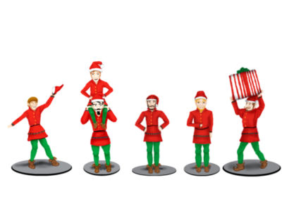 Lionel Trains Polar Express Elf Figure Pack