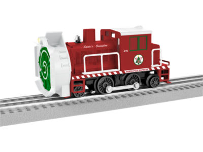 Lionel Trains Christmas Command Rotary Snowplow