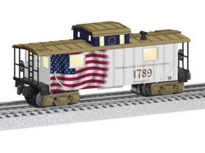 Lionel Trains Presidential Caboose