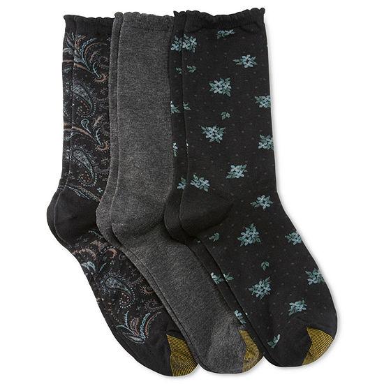 Gold Toe 3 Pk Dress Socks