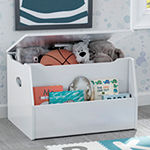 Delta Children Nolan Toy Box-White