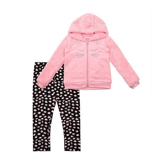 Nanette Baby Girls 2-pc. Pant Set Toddler