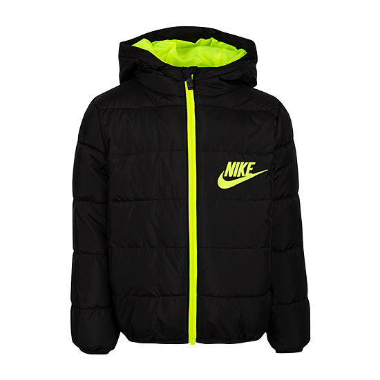 Nike Boys Water Resistant Heavyweight Puffer Jacket -Preschool