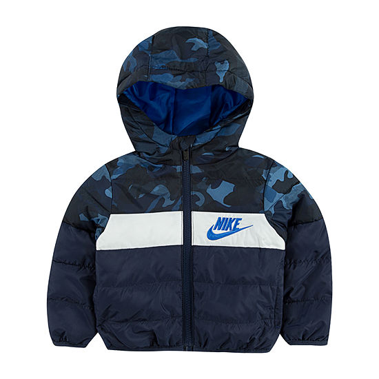 Nike - Boys Water Resistant Heavyweight Puffer Jacket-Toddler