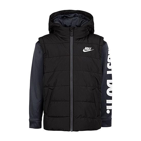 Nike Boys Fleece Midweight Jacket-Preschool